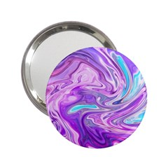 Abstract Art Texture Form Pattern 2 25  Handbag Mirrors