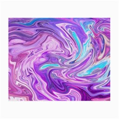 Abstract Art Texture Form Pattern Small Glasses Cloth
