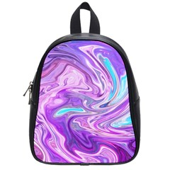 Abstract Art Texture Form Pattern School Bag (small)
