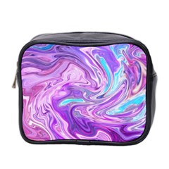 Abstract Art Texture Form Pattern Mini Toiletries Bag 2 Side