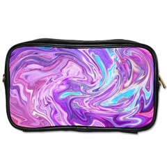 Abstract Art Texture Form Pattern Toiletries Bags