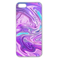 Abstract Art Texture Form Pattern Apple Seamless Iphone 5 Case (clear)