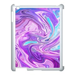 Abstract Art Texture Form Pattern Apple Ipad 3/4 Case (white) by Nexatart