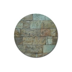 Wall Stone Granite Brick Solid Magnet 3  (round)
