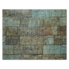 Wall Stone Granite Brick Solid Rectangular Jigsaw Puzzl