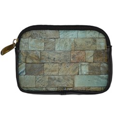 Wall Stone Granite Brick Solid Digital Camera Cases by Nexatart