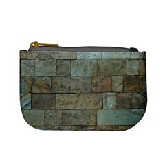 Wall Stone Granite Brick Solid Mini Coin Purses