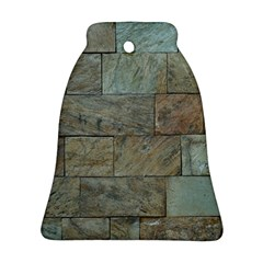 Wall Stone Granite Brick Solid Bell Ornament (two Sides)