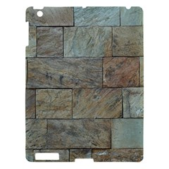 Wall Stone Granite Brick Solid Apple Ipad 3/4 Hardshell Case