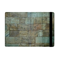 Wall Stone Granite Brick Solid Apple Ipad Mini Flip Case