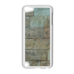 Wall Stone Granite Brick Solid Apple Ipod Touch 5 Case (white)