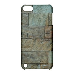Wall Stone Granite Brick Solid Apple Ipod Touch 5 Hardshell Case With Stand