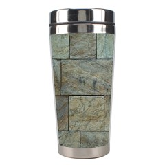 Wall Stone Granite Brick Solid Stainless Steel Travel Tumblers
