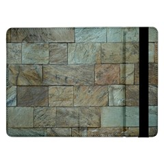 Wall Stone Granite Brick Solid Samsung Galaxy Tab Pro 12 2  Flip Case