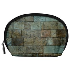 Wall Stone Granite Brick Solid Accessory Pouches (large)