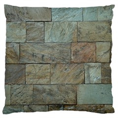 Wall Stone Granite Brick Solid Standard Flano Cushion Case (two Sides)