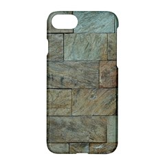 Wall Stone Granite Brick Solid Apple Iphone 8 Hardshell Case by Nexatart