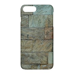 Wall Stone Granite Brick Solid Apple Iphone 8 Plus Hardshell Case by Nexatart