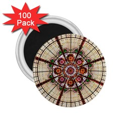 Pattern Round Abstract Geometric 2 25  Magnets (100 Pack)