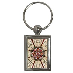 Pattern Round Abstract Geometric Key Chains (rectangle)