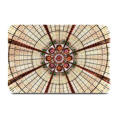 Pattern Round Abstract Geometric Plate Mats