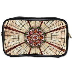 Pattern Round Abstract Geometric Toiletries Bags
