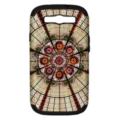 Pattern Round Abstract Geometric Samsung Galaxy S Iii Hardshell Case (pc+silicone)