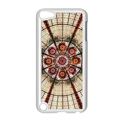 Pattern Round Abstract Geometric Apple Ipod Touch 5 Case (white)