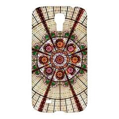 Pattern Round Abstract Geometric Samsung Galaxy S4 I9500/i9505 Hardshell Case