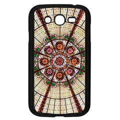 Pattern Round Abstract Geometric Samsung Galaxy Grand Duos I9082 Case (black)