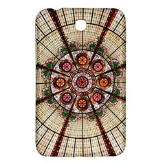 Pattern Round Abstract Geometric Samsung Galaxy Tab 3 (7 ) P3200 Hardshell Case