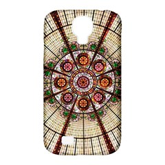 Pattern Round Abstract Geometric Samsung Galaxy S4 Classic Hardshell Case (pc+silicone)