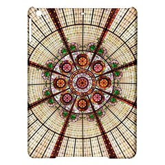 Pattern Round Abstract Geometric Ipad Air Hardshell Cases