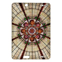 Pattern Round Abstract Geometric Amazon Kindle Fire Hd (2013) Hardshell Case