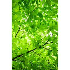 Green Wood The Leaves Twig Leaf Texture 5 5  X 8 5  Notebooks