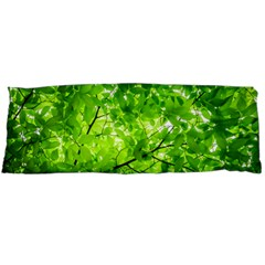 Green Wood The Leaves Twig Leaf Texture Body Pillow Case (dakimakura)