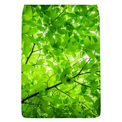 Green Wood The Leaves Twig Leaf Texture Flap Covers (s)