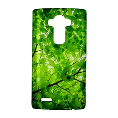Green Wood The Leaves Twig Leaf Texture Lg G4 Hardshell Case