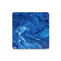 Abstract Pattern Texture Art Square Magnet
