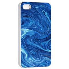 Abstract Pattern Texture Art Apple Iphone 4/4s Seamless Case (white)