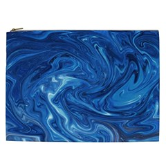 Abstract Pattern Texture Art Cosmetic Bag (xxl)