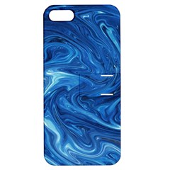 Abstract Pattern Texture Art Apple Iphone 5 Hardshell Case With Stand