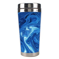 Abstract Pattern Texture Art Stainless Steel Travel Tumblers