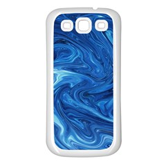 Abstract Pattern Texture Art Samsung Galaxy S3 Back Case (white)