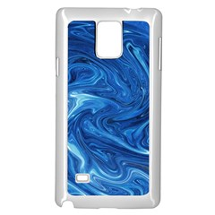Abstract Pattern Texture Art Samsung Galaxy Note 4 Case (white)