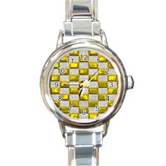 Pattern Desktop Square Wallpaper Round Italian Charm Watch
