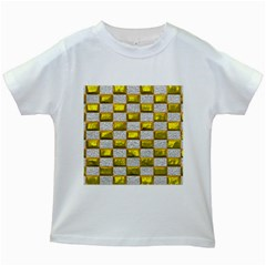 Pattern Desktop Square Wallpaper Kids White T Shirts