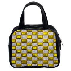 Pattern Desktop Square Wallpaper Classic Handbags (2 Sides)