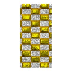 Pattern Desktop Square Wallpaper Shower Curtain 36  X 72  (stall)