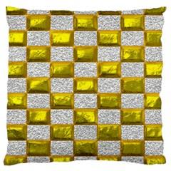 Pattern Desktop Square Wallpaper Large Cushion Case (one Side)